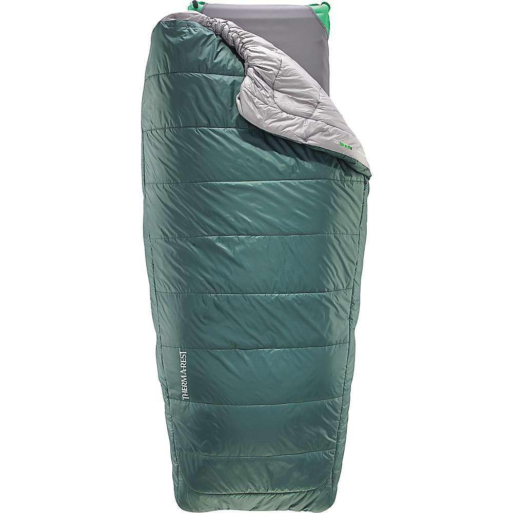 サーマレスト メンズ ハイキング・登山【Therm-a-Rest apogee Quilt Sleeping Bag】Cilantro / Grey