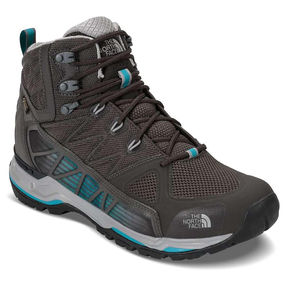 ザ ノースフェイス メンズ ハイキング・登山 シューズ・靴【Ultra GTX Surround Mid Boot】Beluga Grey / Algiers Blue