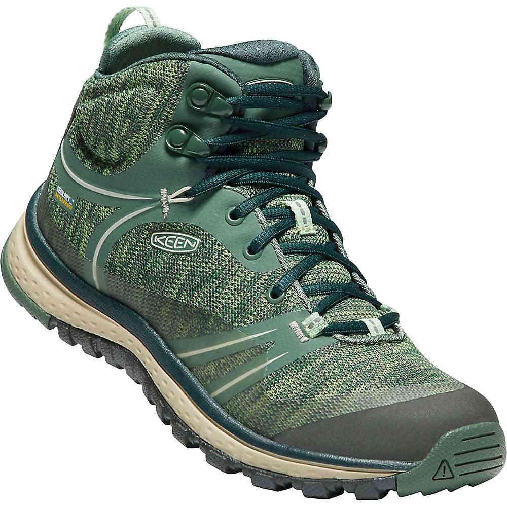 キーン レディース ハイキング・登山 シューズ・靴【Terradora Mid Waterproof Boot】Duck Green / Quiet Green