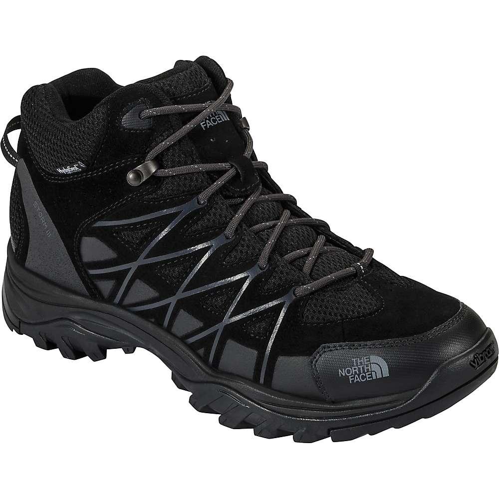 ザ ノースフェイス メンズ ハイキング・登山 シューズ・靴【Storm III Mid Waterproof Shoe】TNF Black / Phantom Grey