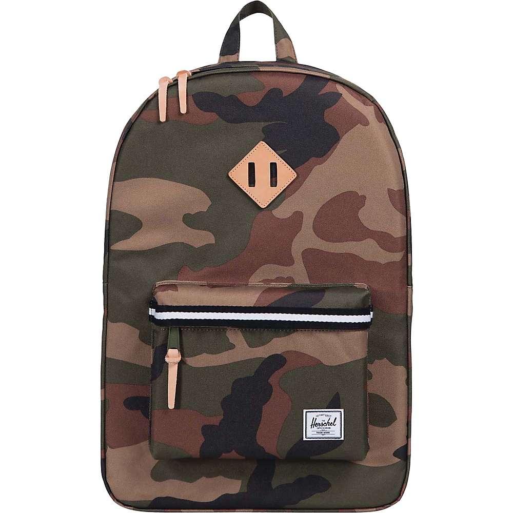 ハーシェル サプライ ユニセックス バッグ パソコンバッグ【Heritage Backpack】Woodland Camo / Black / White