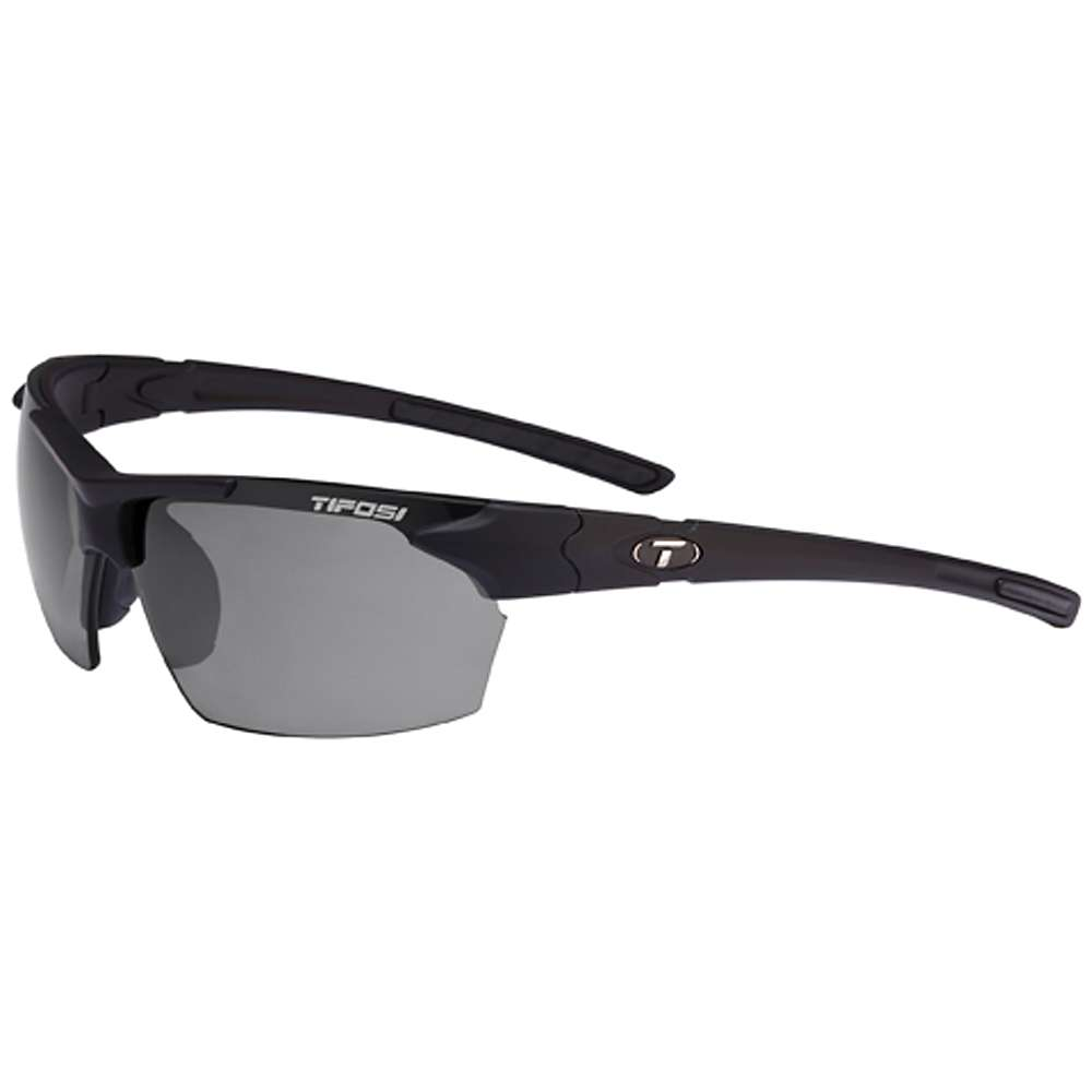ティフォージ メンズ スポーツサングラス【Tifosi Jet Polarized Sunglasses】Matte Black / Smoke Polarized