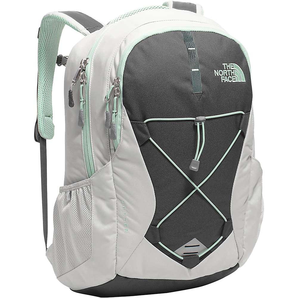 ザ ノースフェイス レディース バッグ パソコンバッグ【Jester Backpack】Lunar Ice Grey / Subtle Green