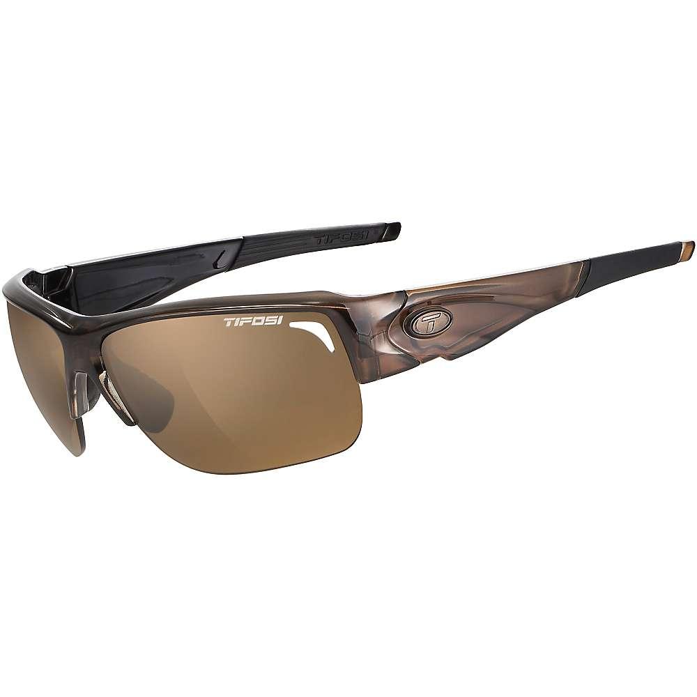 ティフォージ メンズ スポーツサングラス【Tifosi Elder Polarized Sunglasses】Crystal Brown / Brown Polarized