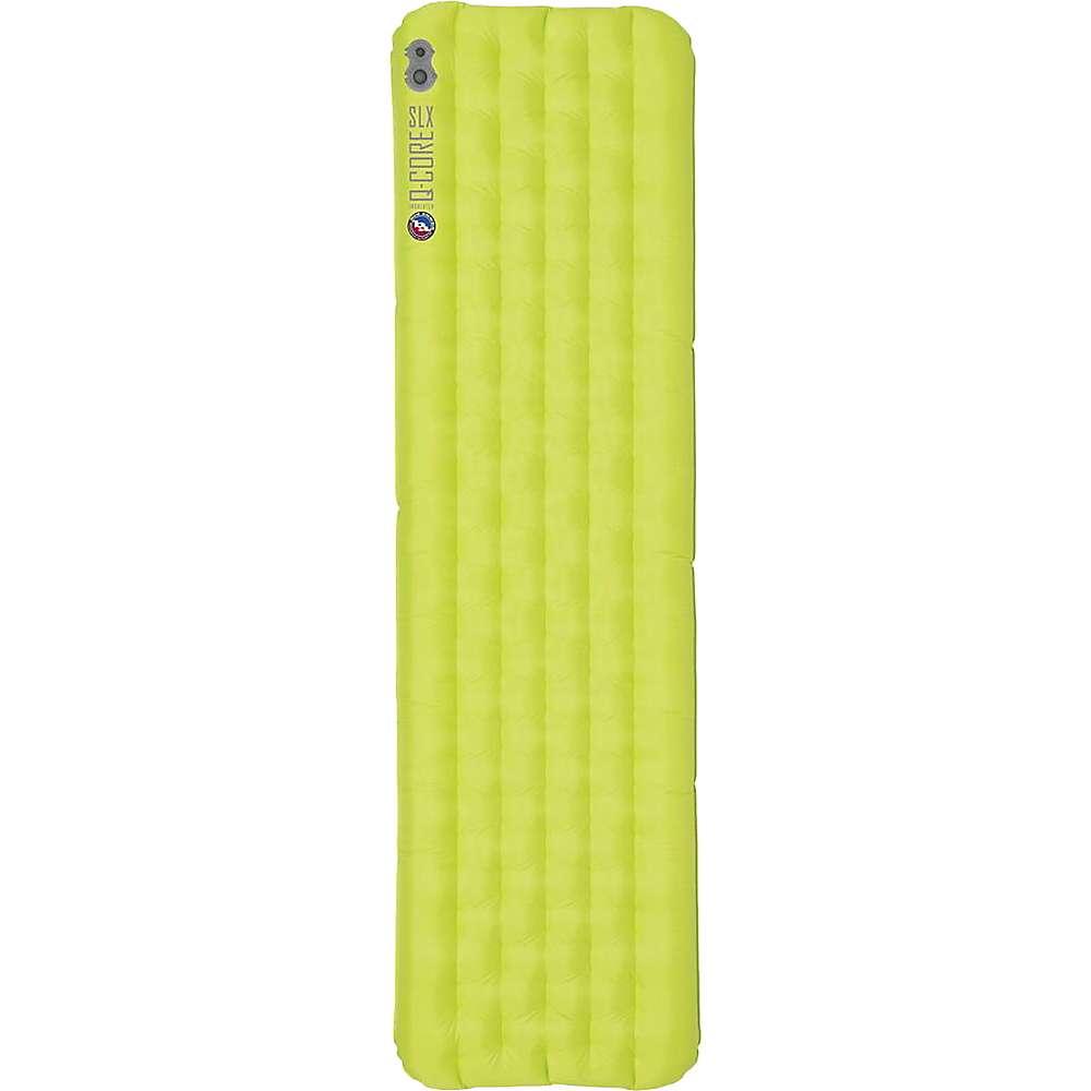ビッグアグネス ユニセックス ハイキング・登山【Q Core SLX Sleeping Pad】Lime Green