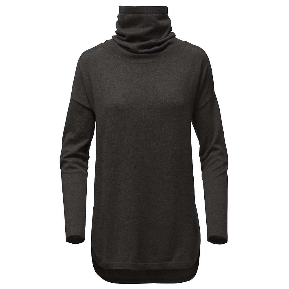 ザ ノースフェイス レディース 自転車 トップス【Woodland Sweater Tunic】TNF Dark Grey Heather