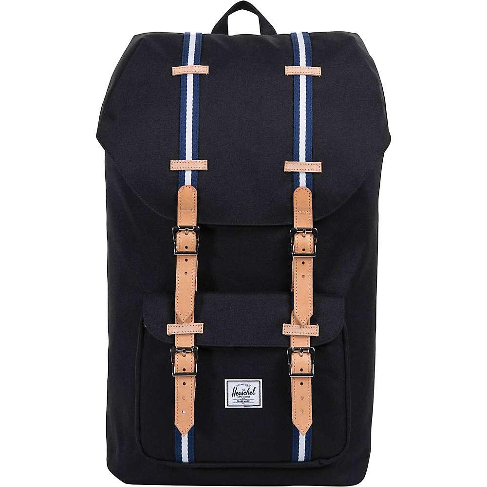 ハーシェル サプライ ユニセックス バッグ パソコンバッグ【Little America Backpack】Black / Blueprint / White