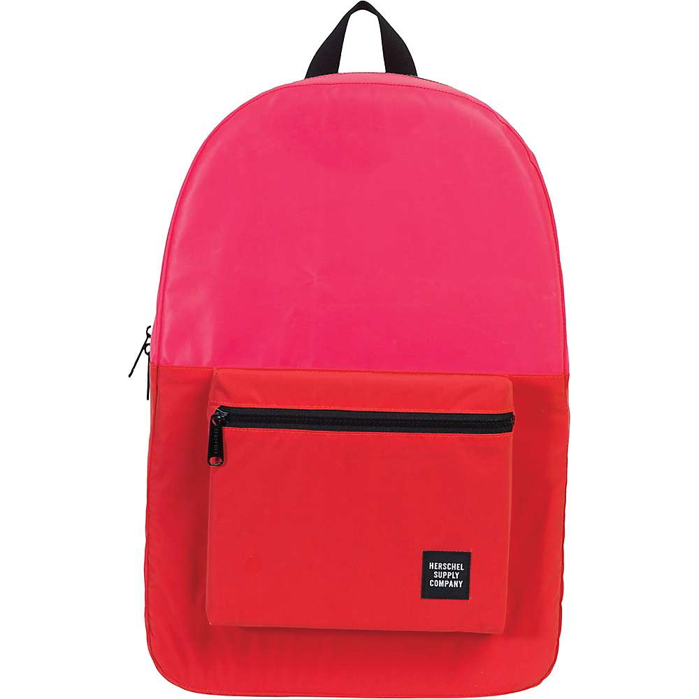 ハーシェル サプライ ユニセックス バッグ バックパック・リュック【Packable Daypack】Neon Pink Reflective / Red Reflective