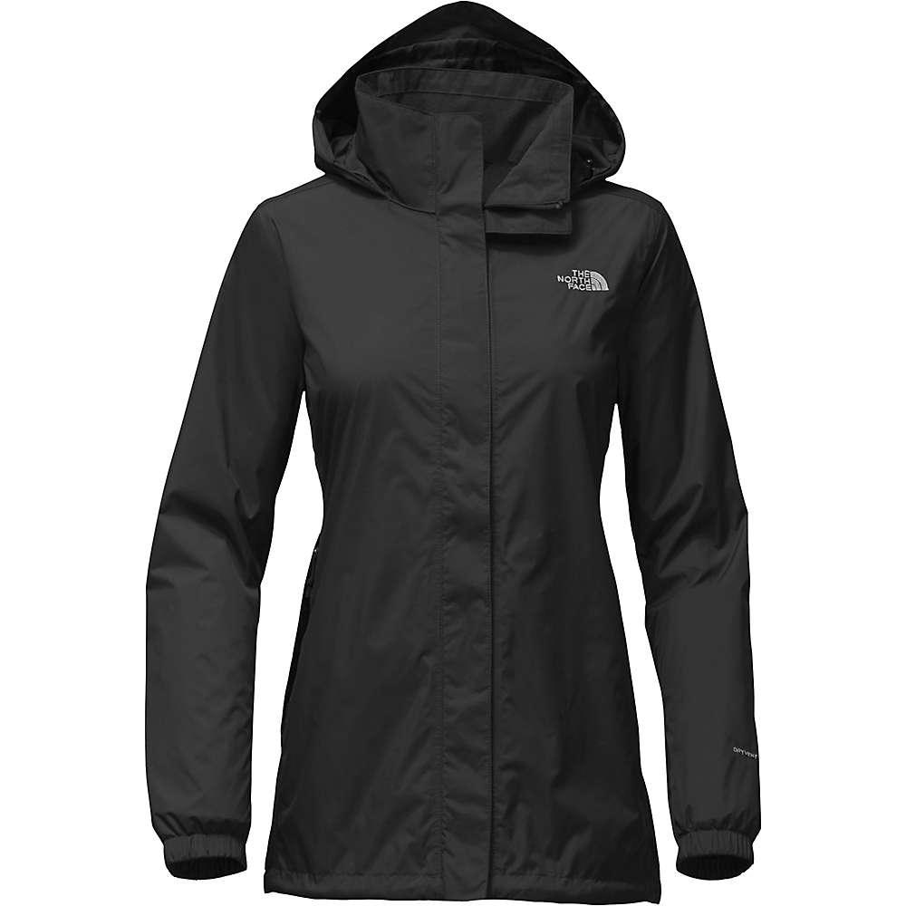 ザ ノースフェイス レディース アウター レインコート【Resolve Parka Jacket】TNF Black / Foil Grey