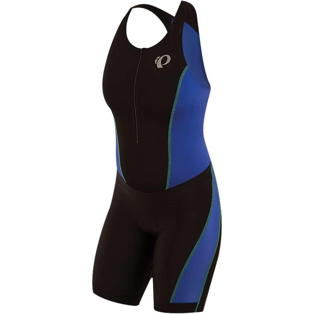パールイズミ レディース 自転車 トップス【SELECT Pursuit Tri Suit】Black / Dazzling Blue