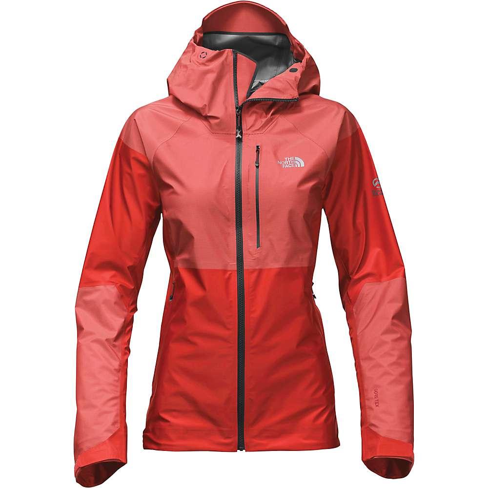 ザ ノースフェイス レディース アウター レインコート【Summit Series L5 FuseForm GTX C-Knit Jacket】Fiery Red Fuse