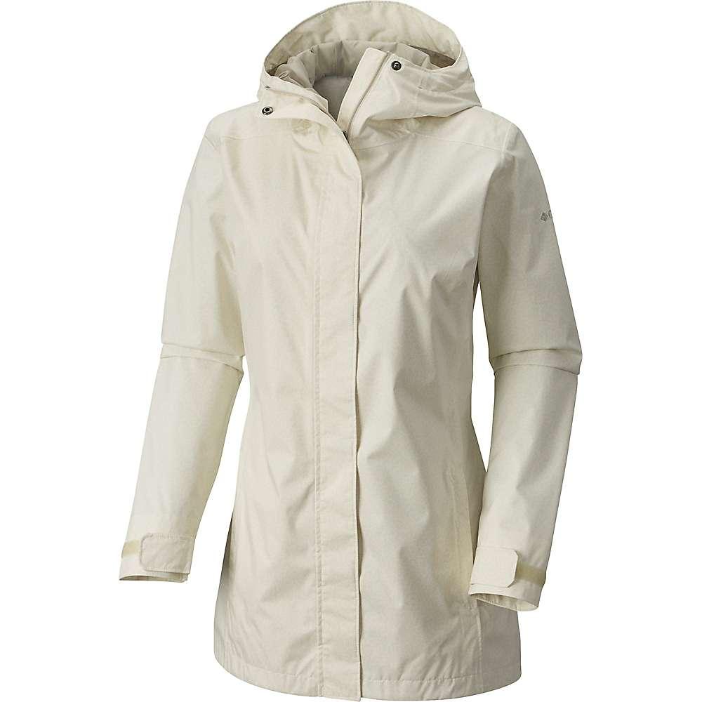 コロンビア レディース アウター レインコート【Splash A Little II Jacket】Sea Salt Geo Lights Print