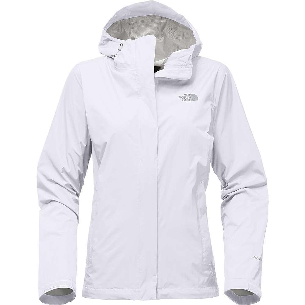 ザ ノースフェイス レディース アウター レインコート【Venture 2 Jacket】TNF White / High Rise Grey