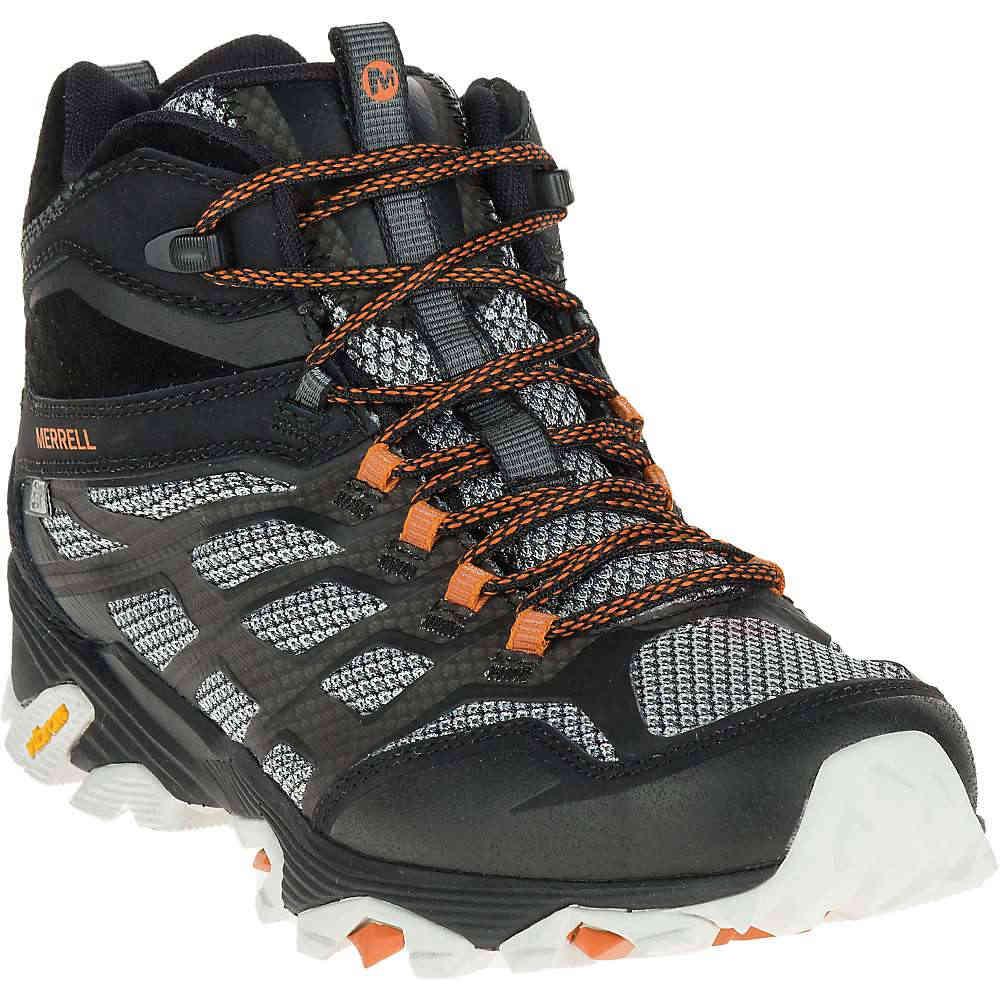 メレル メンズ ハイキング・登山 シューズ・靴【MOAB FST Mid Waterproof Boot】Black