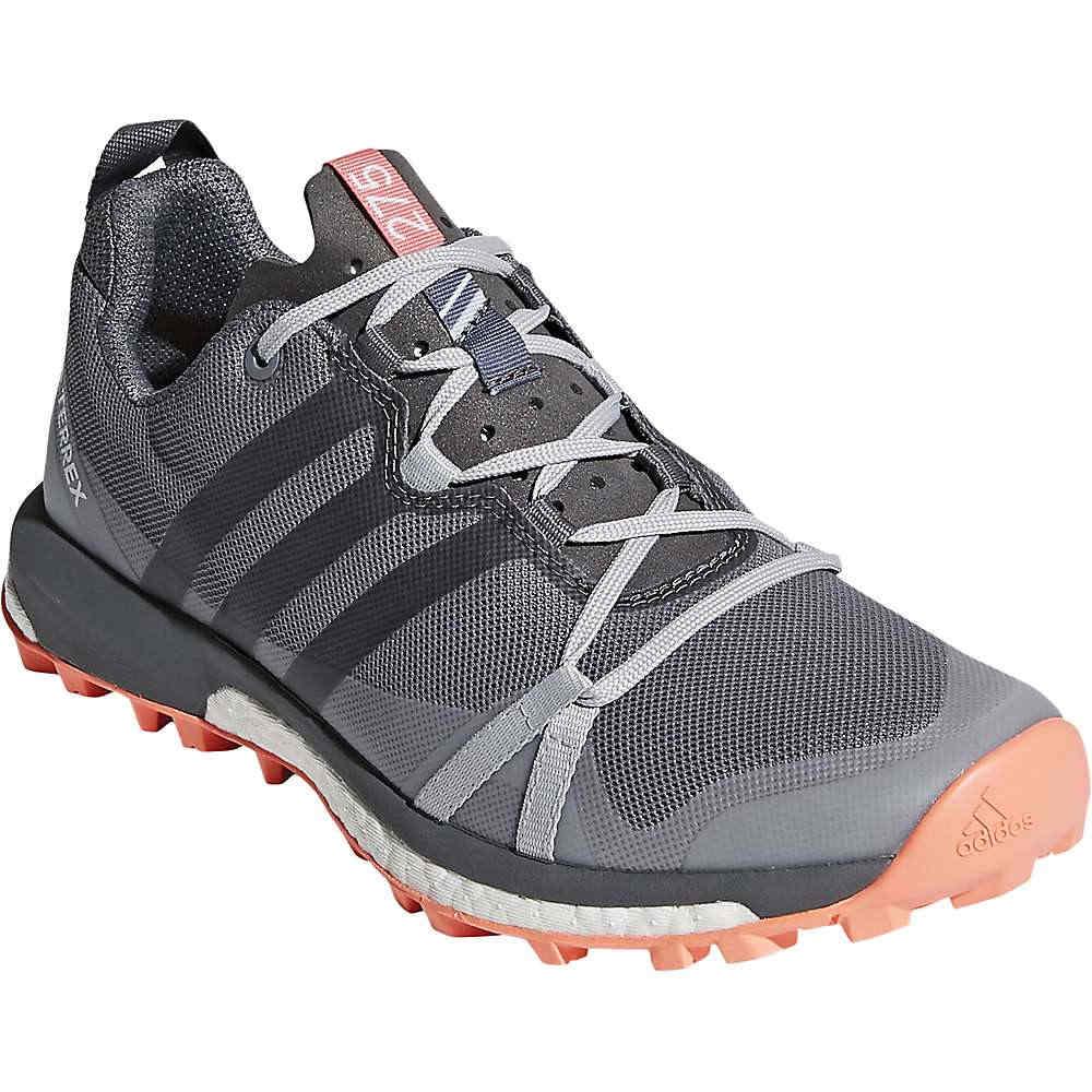 アディダス レディース 陸上 シューズ・靴【Terrex Agravic Shoe】Grey Three / Grey Four / Chalk Coral