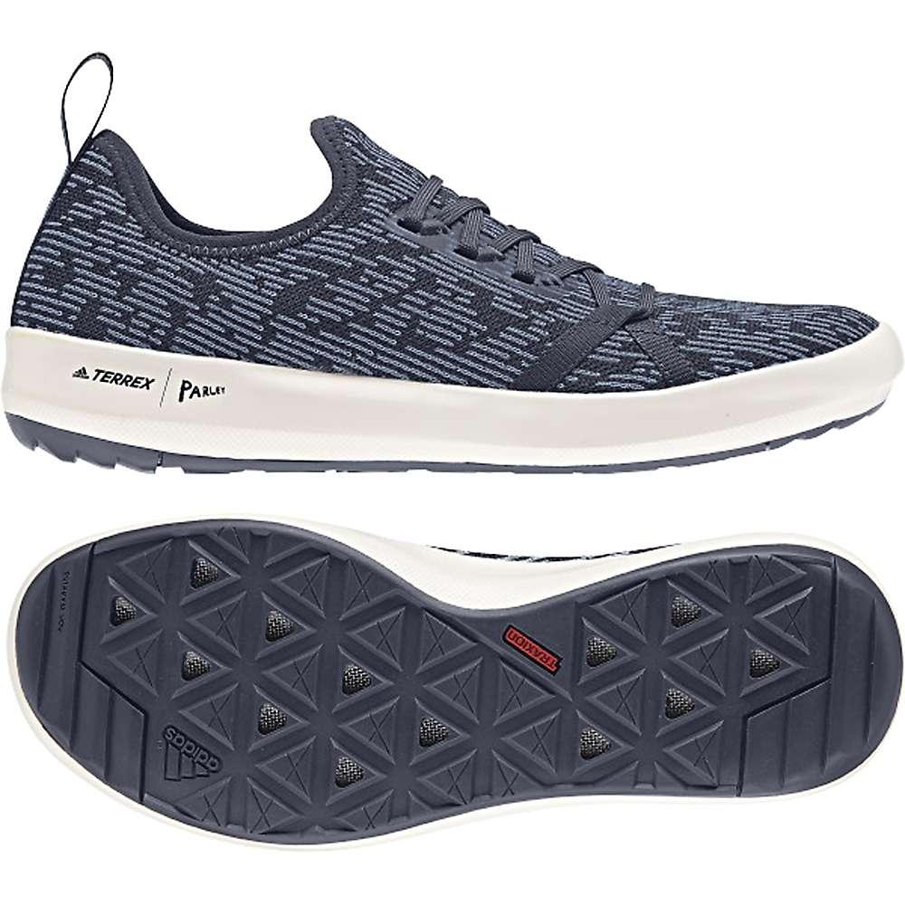 アディダス メンズ シューズ・靴 ウォーターシューズ【Terrex CC Boat Parley Shoe】Trace Blue / Raw Grey / Chalk White