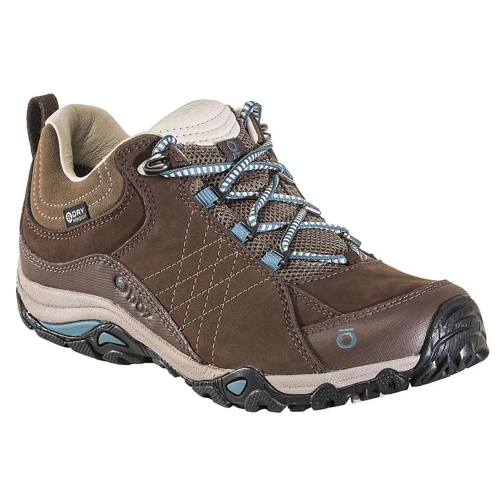 オボズ レディース ハイキング・登山 シューズ・靴【Sapphire Low BDry Shoe】Chestnut / Hydro