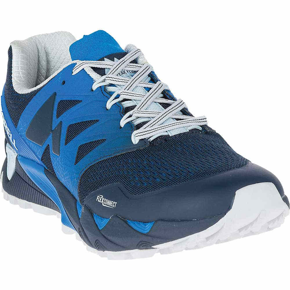 メレル メンズ 陸上 シューズ・靴【Agility Peak Flex 2 E-Mesh Shoe】Directoire Blue