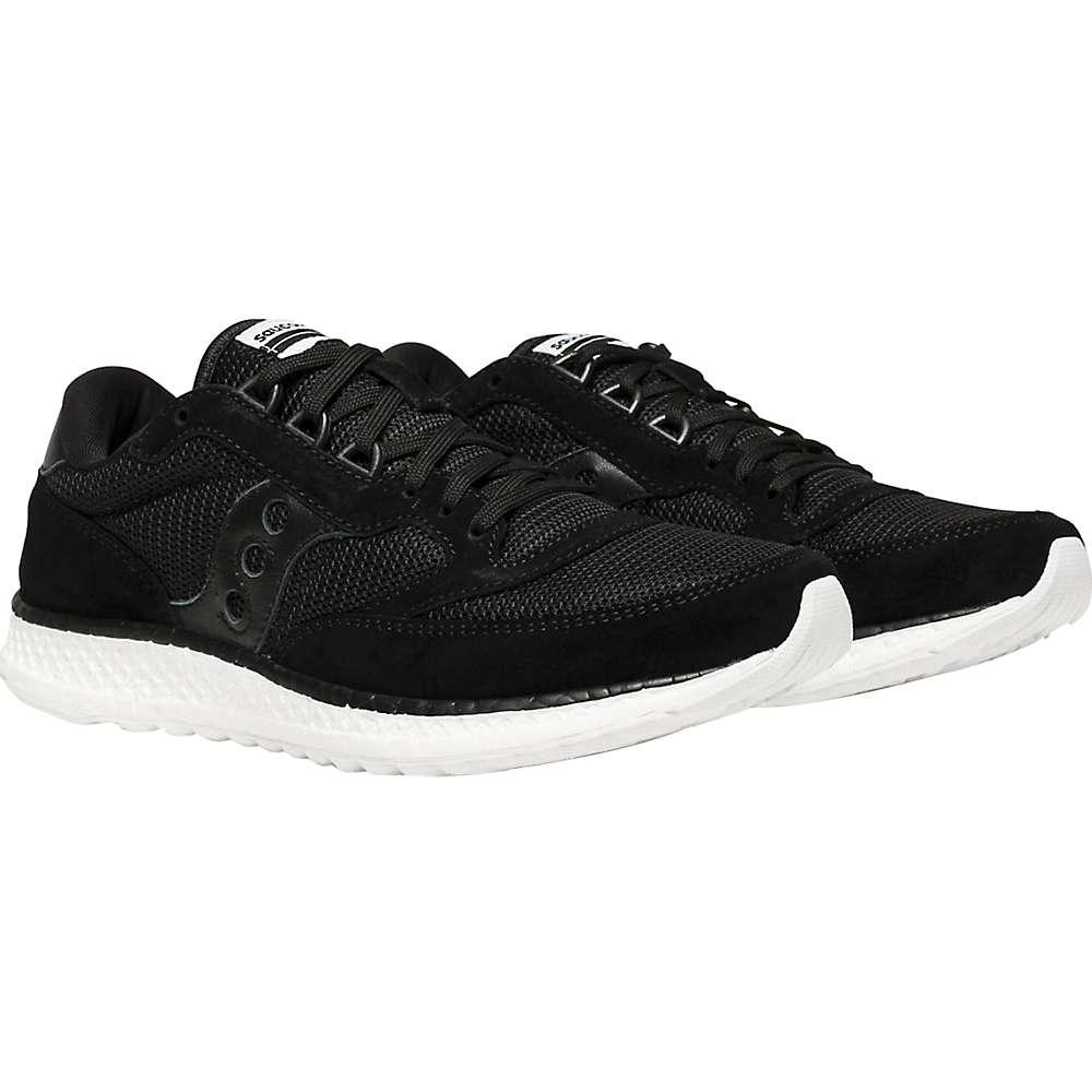 サッカニー レディース ランニング・ウォーキング シューズ・靴【Freedom Runner Shoe】Black