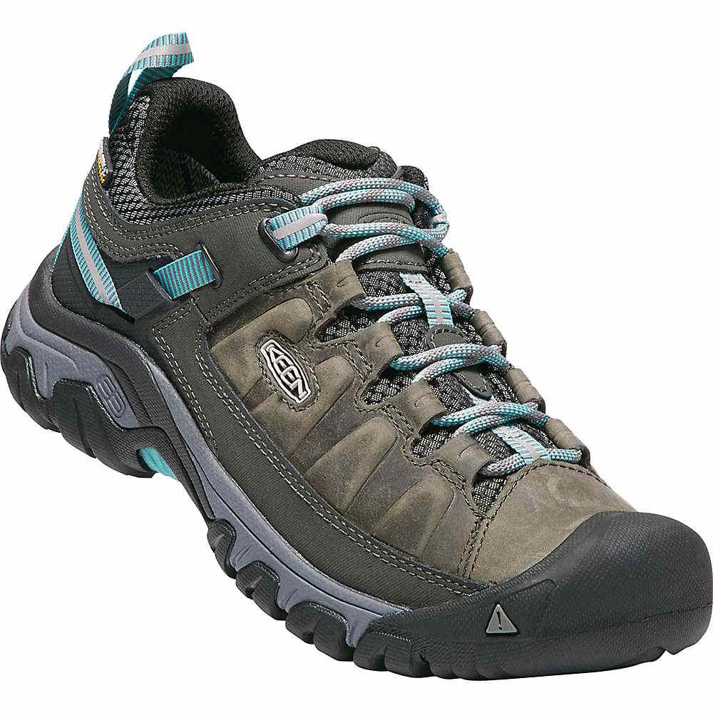 キーン レディース ハイキング・登山 シューズ・靴【Targhee III Waterproof Shoe】Alcatraz / Blue Turquoise