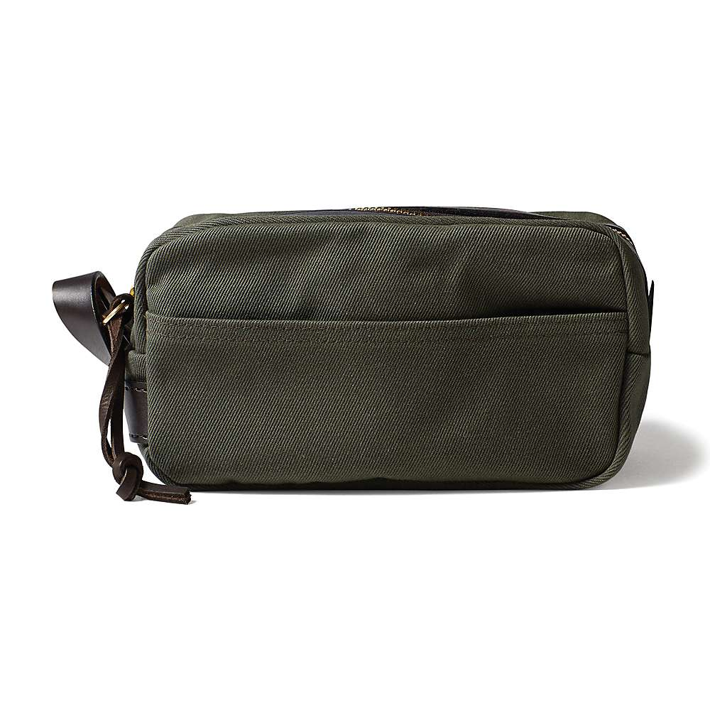 フィルソン ユニセックス ポーチ【Twill Travel Kit】Otter Green