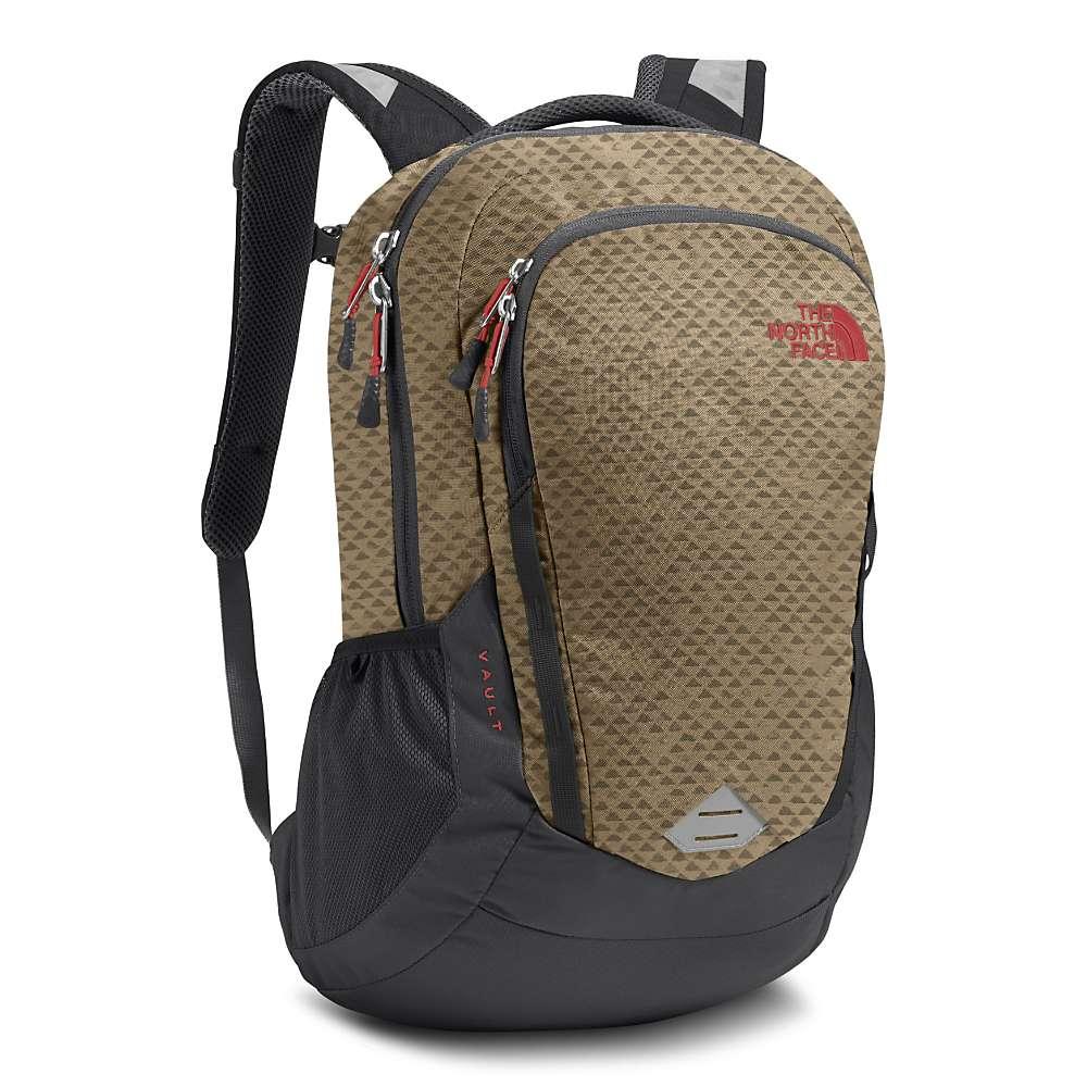ザ ノースフェイス メンズ バッグ バックパック・リュック【Vault Backpack】Kelp Tan Emboss / Asphalt Grey