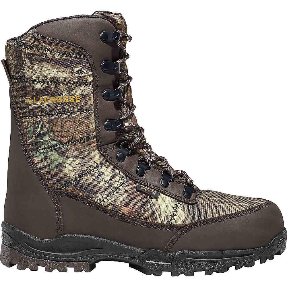 ラクロッセ メンズ ハイキング・登山 シューズ・靴【Silencer 8IN 800G Insulated Boot】Mossy Oak Break Up Infinity