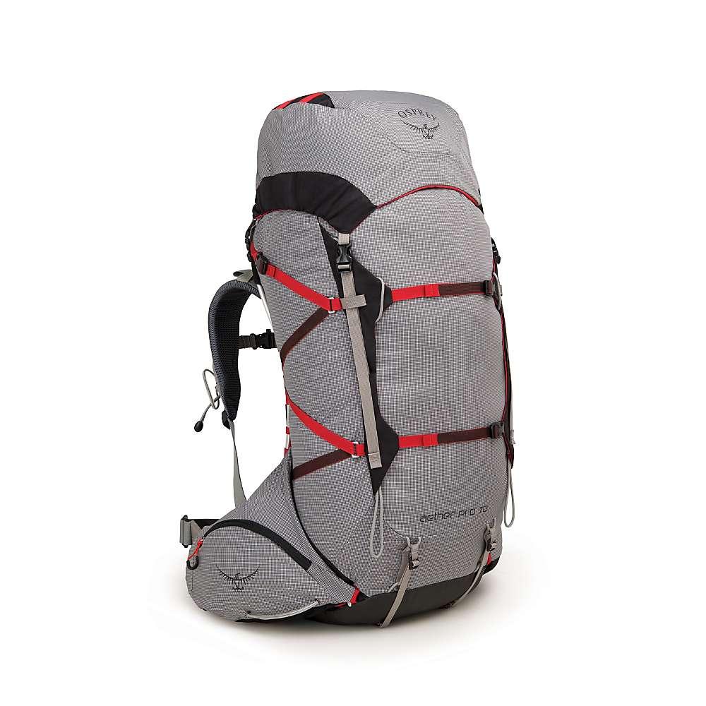 オスプレー メンズ ハイキング・登山【Aether Pro 70 Pack】Kepler Grey