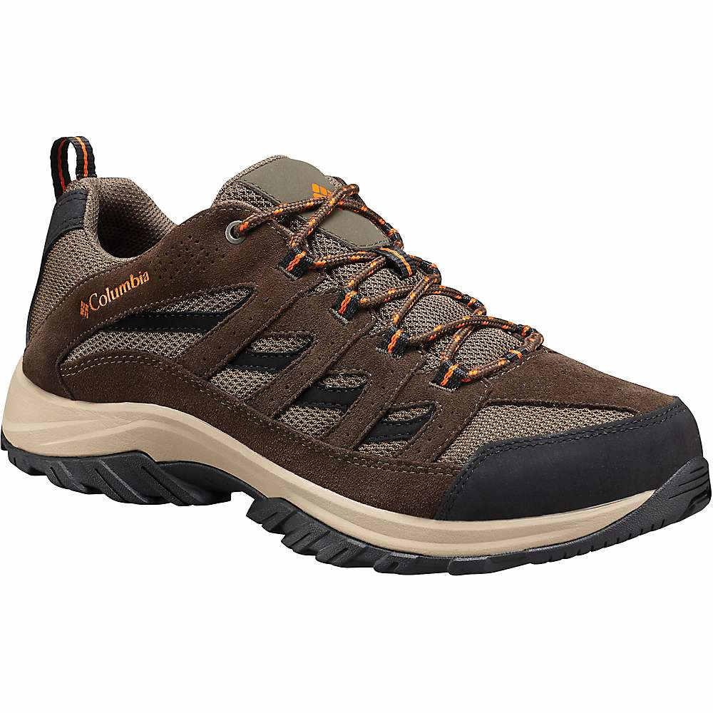 コロンビア メンズ ハイキング・登山 シューズ・靴【Columbia Crestwood Boot】Camo Brown / Heatwave