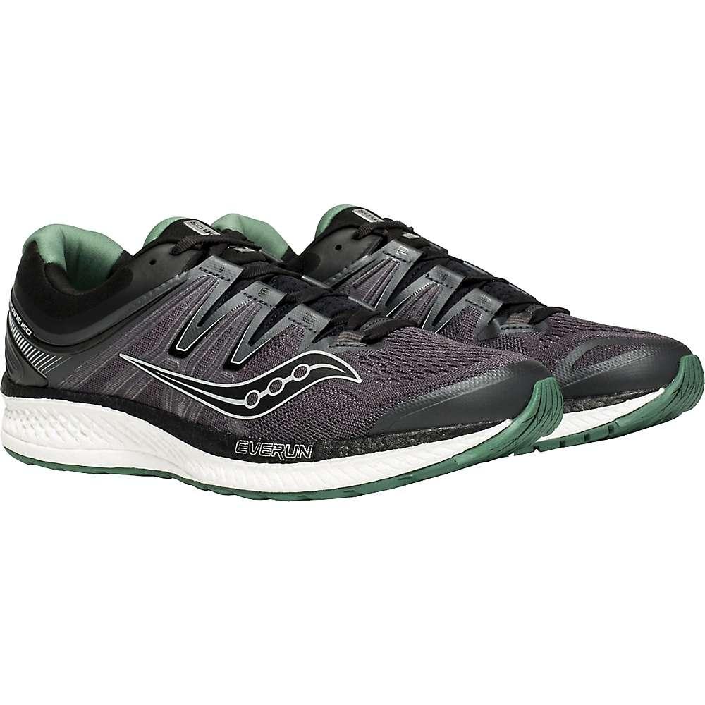 サッカニー メンズ ランニング・ウォーキング シューズ・靴【Hurricane ISO 4 Shoe】Black/Grey/Green
