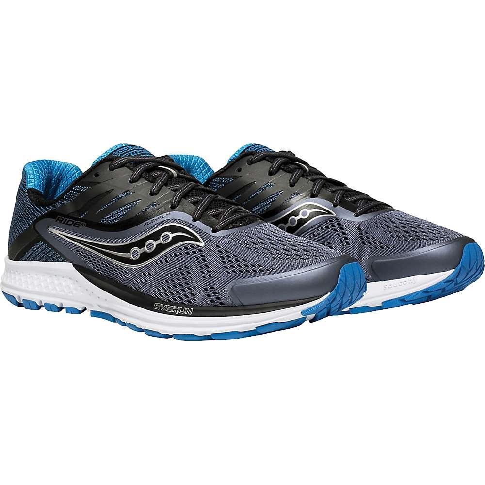 サッカニー メンズ ランニング・ウォーキング シューズ・靴【Ride 10 Shoe】Grey/Black/Blue