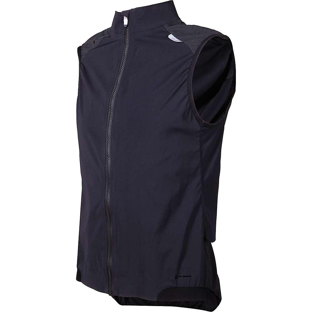 ピーオーシー メンズ 自転車 トップス【Resistance Pro XC Wind Vest】Carbon Black