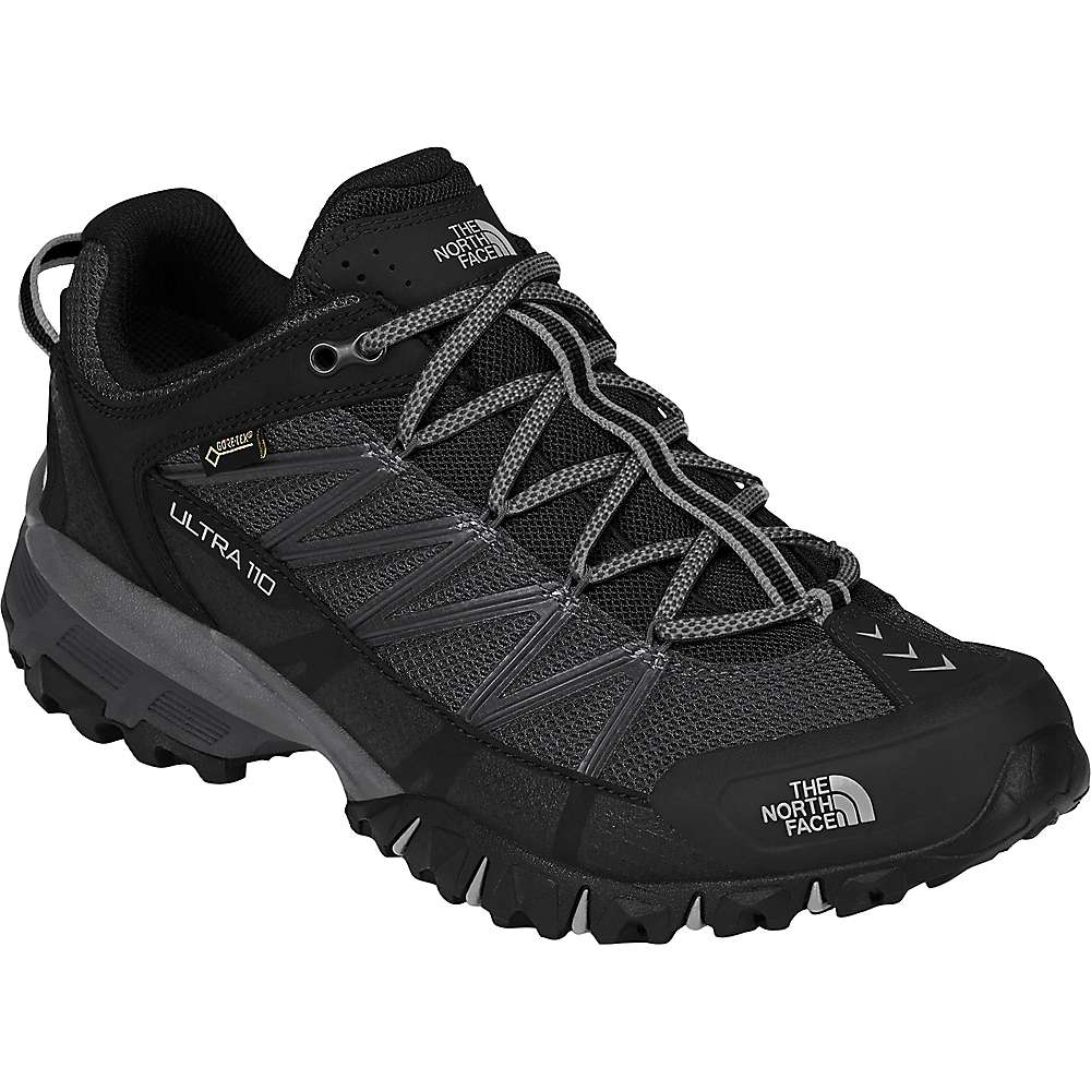 ザ ノースフェイス メンズ 陸上 シューズ・靴【Ultra 110 GTX Shoe】TNF Black / Dark Shadow Grey