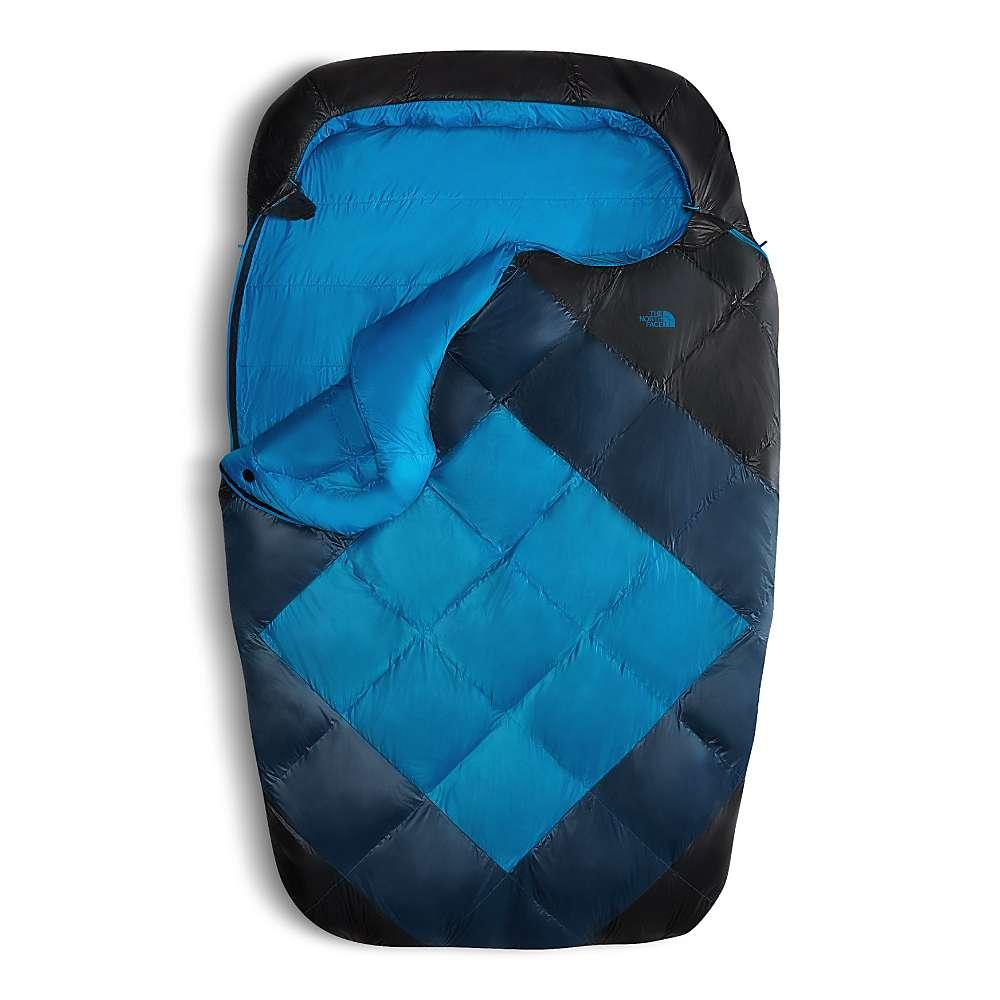 ザ ノースフェイス メンズ ハイキング・登山【Campforter Double 20F / -7C Sleeping Bag】Blue Wing Teal / Asphalt Grey
