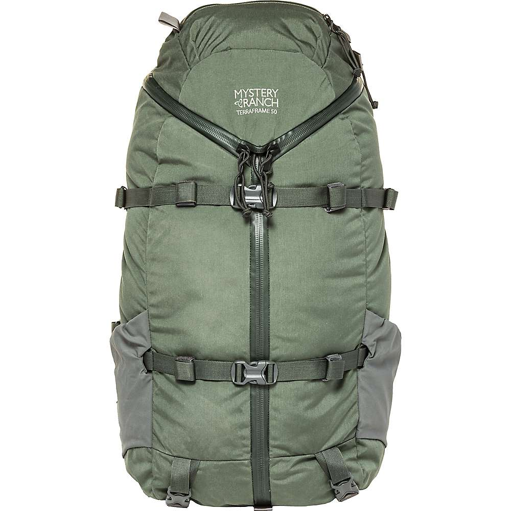 ミステリーランチ メンズ ハイキング・登山【Terraframe 50 3 Zip Bag】Deep Earth
