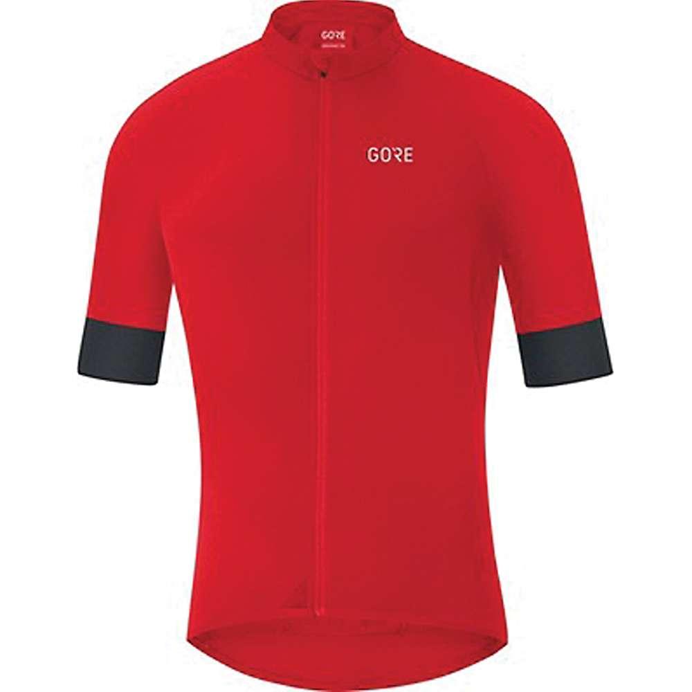 ゴア メンズ 自転車 トップス【Bike Wear C5 Jersey】Red