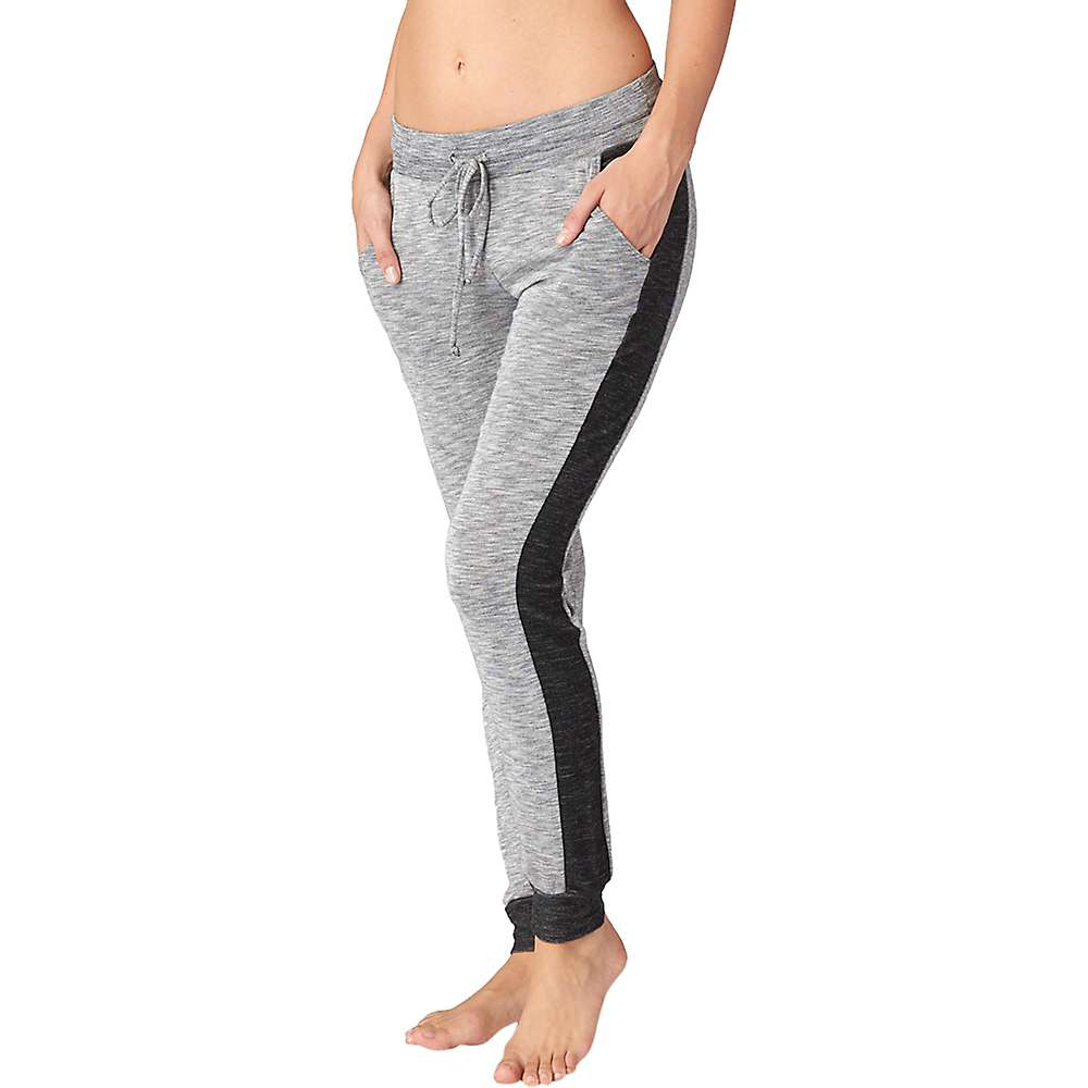 ビヨンドヨガ レディース ヨガ ウェア【Beyond Yoga Double Face Side Paneled Sweatpant】Heather Grey / Black
