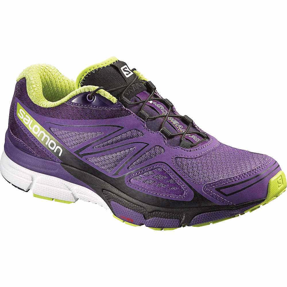 サロモン レディース ランニング・ウォーキング シューズ・靴【X-Scream 3D Shoe】Rain Purple / Cosmic Purple / Gecko Green