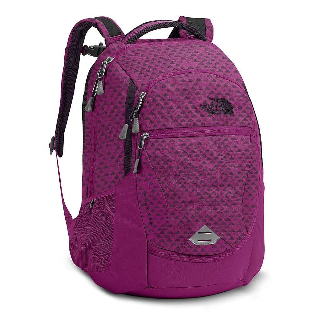 ザ ノースフェイス レディース バッグ バックパック・リュック【Pivoter Backpack】Wild Aster Purple Emboss / Galaxy Purple