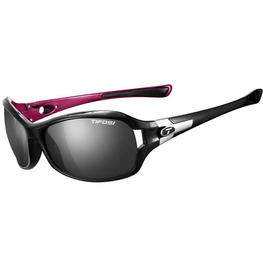 ティフォージ レディース スポーツサングラス【Tifosi Dea SL Polarized Sunglasses】Black / Pink / Smoke Polarized