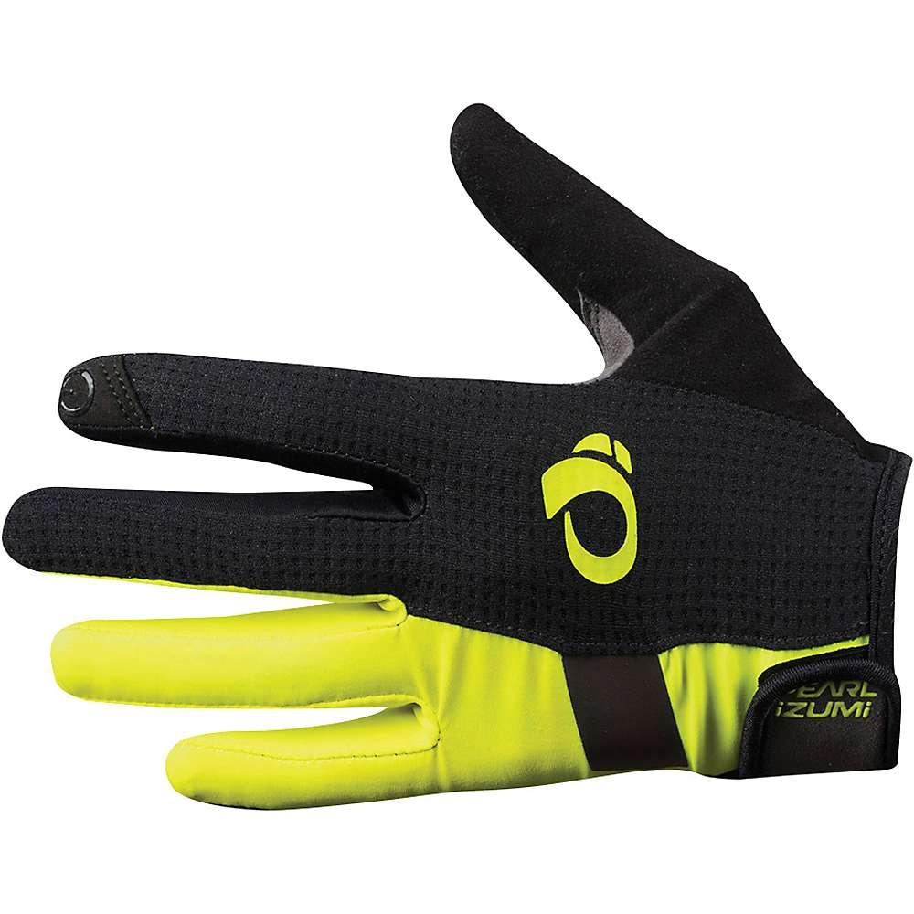 パールイズミ メンズ 自転車 グローブ【ELITE Gel Full Finger Glove】Screaming Yellow