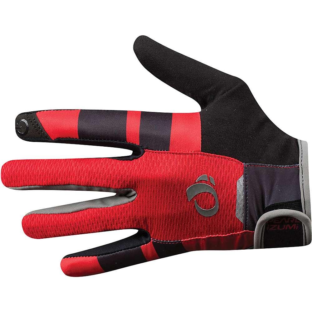 パールイズミ メンズ 自転車 グローブ【PRO Gel Vent Full Finger Glove】Rogue Red