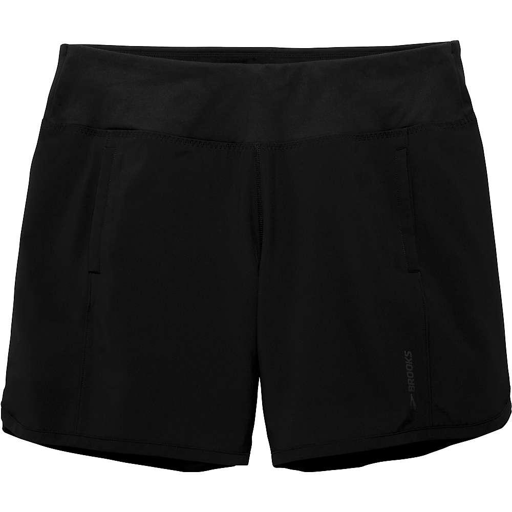 ブルックス レディース ランニング・ウォーキング ボトムス・パンツ【Chaser 7IN Short】Black