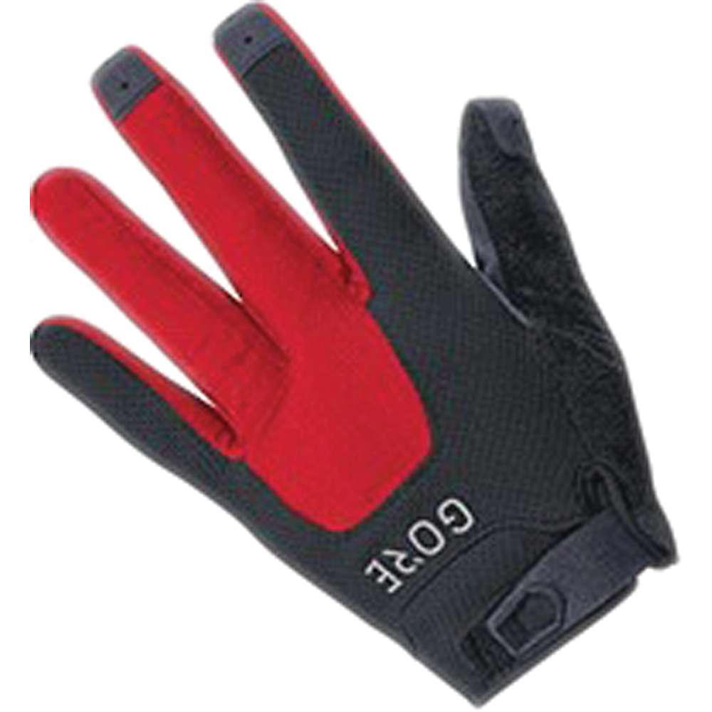 ゴア メンズ 自転車 グローブ【Bike Wear C5 Trail Glove】Black / Red