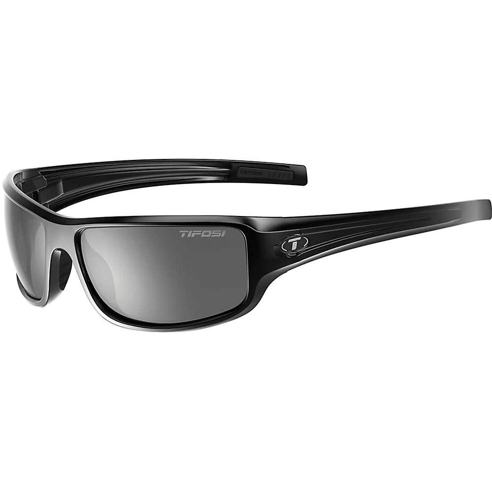 ティフォージ ユニセックス スポーツサングラス【Tifosi Bronx Sunglasses】Gloss Black / Smoke
