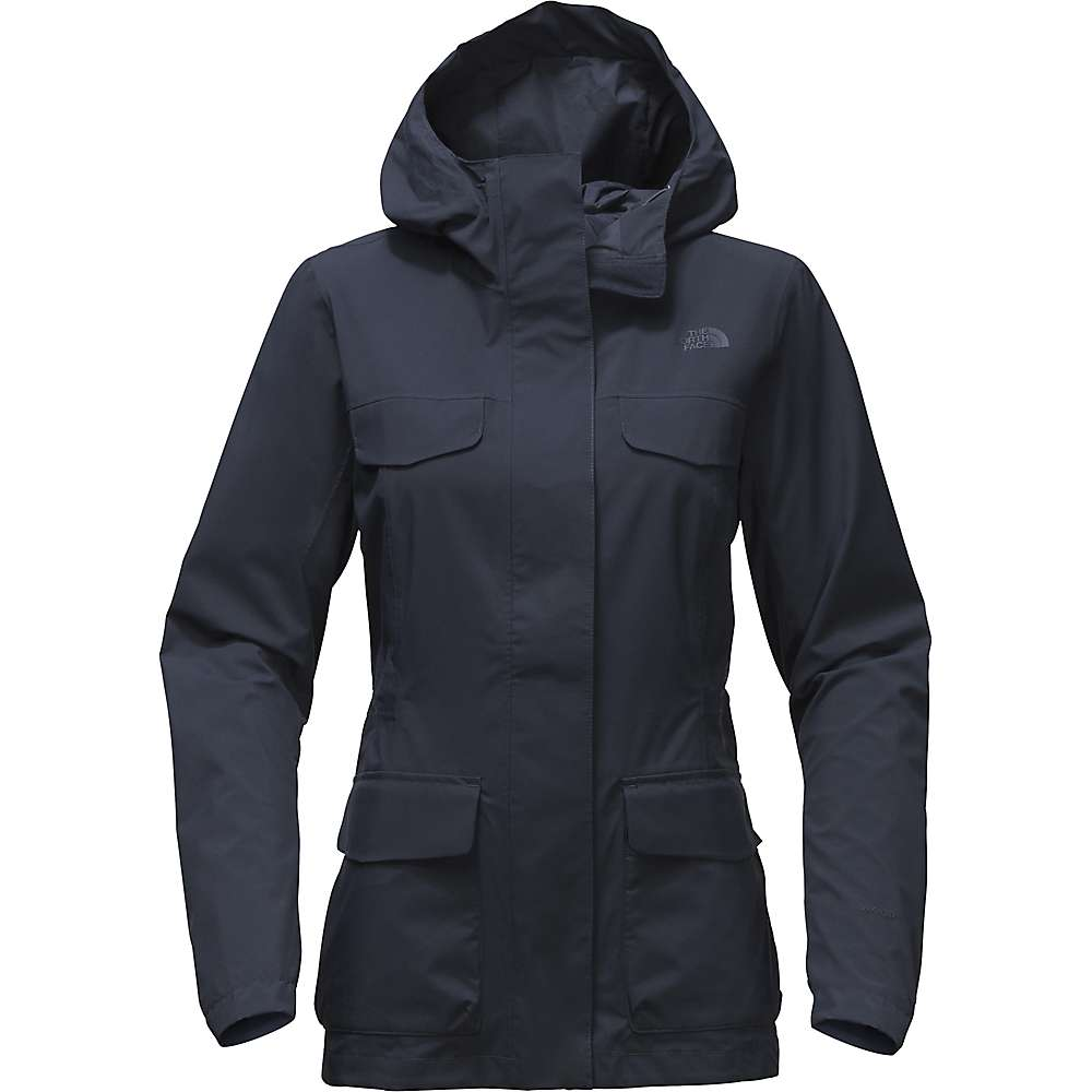 ザ ノースフェイス レディース アウター レインコート【Wynes Quad Pocket Jacket】Urban Navy