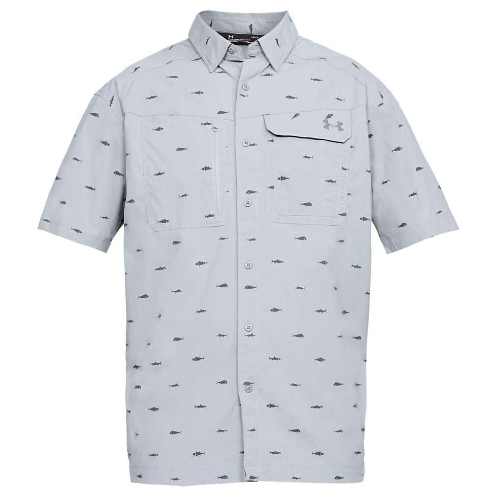 アンダーアーマー Fish メンズ トップス 半袖シャツ Shirt】Steel【UA Fish Hunter Graphite SS Plaid Shirt】Steel/ Graphite, トイザらスベビーザらス:d4efa338 --- malebeauty.xyz