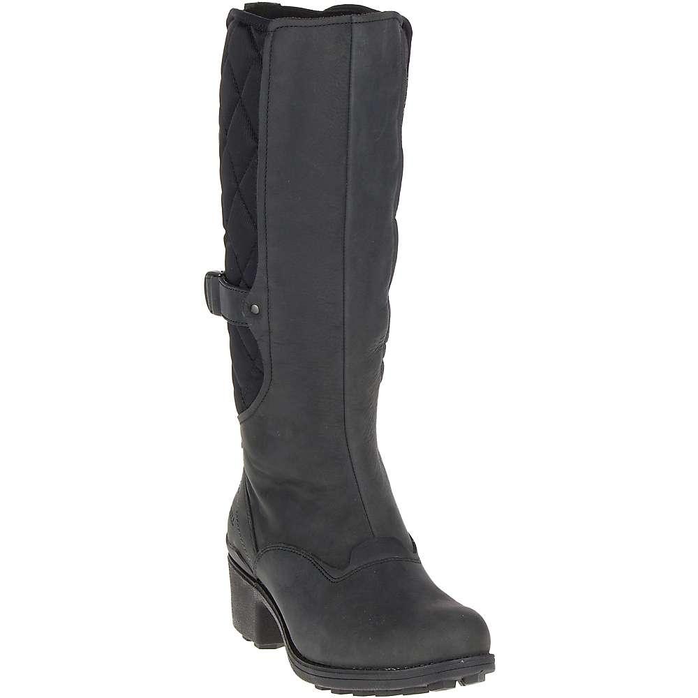 メレル レディース ハイキング・登山 シューズ・靴【Chateau Tall Pull Waterproof Boot】Black