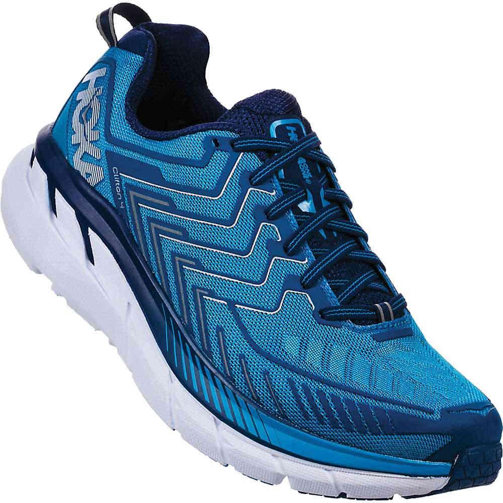ホカ オネオネ メンズ ランニング・ウォーキング シューズ・靴【Clifton 4 Wide Shoe】Diva Blue / True Blue