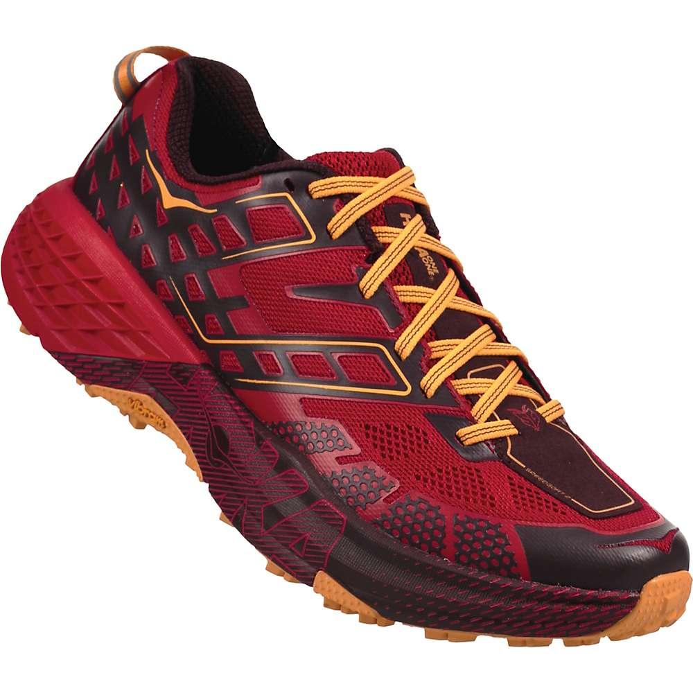 ホカ オネオネ メンズ 陸上 シューズ・靴【Speedgoat 2 Shoe】Winetasting / Haute Red